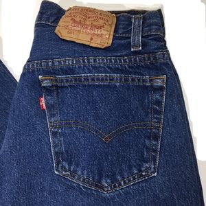 VTG Levis 501 Button Fly Red Tab Jeans 🇺🇸 33x32